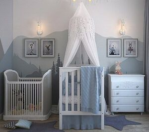 high-end baby crib