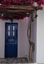 door of house